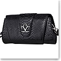 Cashs Ireland, Top Grain Leather Fionna Black Clutch Handbag