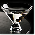 Cashs Ireland, Grand Cru Handmade, Stemless Martini Crystal Glasses, Pair