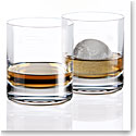 Cashs Ireland, Grand Cru Handmade Irish Whiskey DOF Glasses, Pair