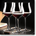 Cashs Ireland, Grand Cru Handmade, Pinot Noir Crystal Glasses, Set of 3+1 Free