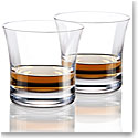 Cashs Ireland Grand Cru Handmade, Regal Blended Scotch Whiskey Glasses, Pair