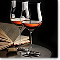 Cashs Ireland, Grand Cru Handmade, Rose Wine Crystal Glasses, Pair
