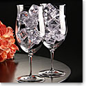Cashs Ireland, Crystal Grand Cru Water, Soft Drinks Glasses, Pair
