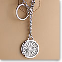 Cashs Crystal and Sterling Silver Newgrange Crystal Bag Charm and Key Ring