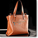 Cashs Ireland, Top Grain Leather Cara Veau Cognac Handbag, Limited Edition