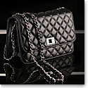 Cashs Top Grain Leather Cooper Handbag, Black, Limited Edition