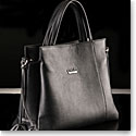 Cashs Top Grain Leather Leona Handbag, Black, Limited Edition