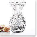 "Cashs Ireland, 10"" Pineapple Crystal Vase"
