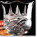 Cashs Ireland, Art Collection Sailing Series Regatta Crystal Vase, Limited Edition