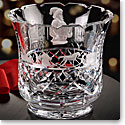 Cashs Ireland, Crystal Art Collection, Santa and Toy Shelf Trifle Bowl, Limited Edition