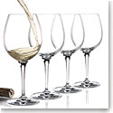 Cashs Ireland, Wine Cru Chardonnay Crystal Glasses, Set of Four