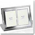 Vera Wang Wedgwood Grosgrain 5x7 Double Invitation Frame