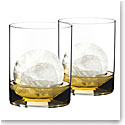 Riedel O Stemless, Classic Bar Whiskey Glasses, Pair