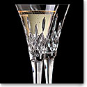 Waterford Classic Lismore Toasting Flutes, Pair