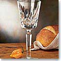 Waterford Crystal, Platinum Lismore Tall Crystal Wine, Single