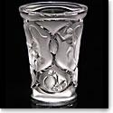 Lalique Monkey Vase, Clear