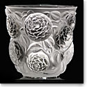 Lalique Crystal, Oran Crystal Vase, Numbered Edition