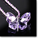 Lalique Papillons Butterfly Pendant Necklace, Parma