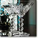 Waterford Crystal, Masterworks Monarch Crystal Martini Pair 2nd Edition, Ltd Ed Of 25