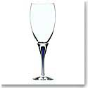 Orrefors Crystal, Intermezzo Blue Crystal Goblet, Single