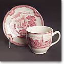 Johnson Brothers Old Britain Castles Pink Dinner Plate, Single