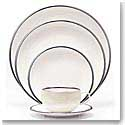 Wedgwood China Plato Platinum, 5 Piece Place Setting