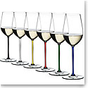 Riedel Fatto A Mano Riesling, Zinfandel Glasses, Set of 6