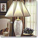 "Waterford Crystal, Reflections 30"" Crystal Lamp"