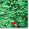 Premium Greeting Card, Holiday Ribbons