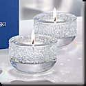 Swarovski Crystal, Shimmer Crystal Tea Light, Clear