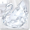 Swarovski Crystal, Large Swan Sculpture