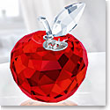Swarovski Crystal, New York Apple Figure, Red