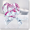 Swarovski Crystal Blossoming Rose Ruby