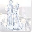 Swarovski Crystal, Wedding Love Couple Sculpture