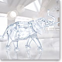 Swarovski Crystal, Rare Encounters Elephant Sculpture