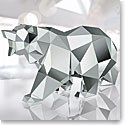 Swarovski Crystal, Bear Sculpture By Arran Gregory