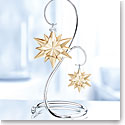 Swarovski SCS 2017 Christmas Ornament Set