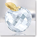 Swarovski Crystal, Apple, Golden Shine