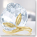 Swarovski Crystal Asian Peach Golden Shine