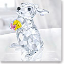 Swarovski Rabbit With Yellow Egg