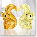 Swarovski Lovlots Squirrels In Love Bert and Berta