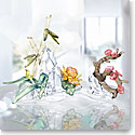 Swarovski Four Noble Plants Sculpture