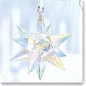 Swarovski Crystal, Aurora Borealis Star Crystal Ornament