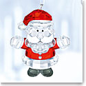 Swarovski Crystal, Santa Claus Crystal Ornament