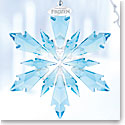 Swarovski Crystal, Disney Frozen Snowflake Crystal Ornament