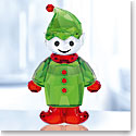 Swarovski Crystal, Santa's Helper Crystal Figure
