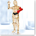 Swarovski Crystal, Star Wars C-3PO Sculpture