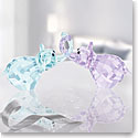 Swarovski Lovlots Elephants In Love, Paul and Paula