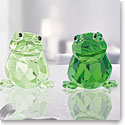 Swarovski Crystal, Lovlots Frogs In Love, Angelo and Angelina