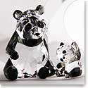 Swarovski Crystal, Panda Mother With Baby